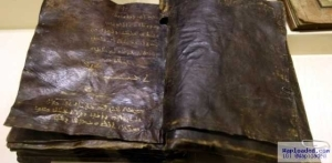 PHOTO: 1,500 Year Old Bible Says That Jesus Christ Was Not Crucified & More Shocking Things